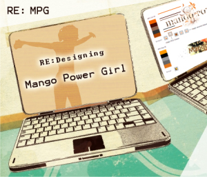RE:Designing Mango Power Girl, by Brian Glanz